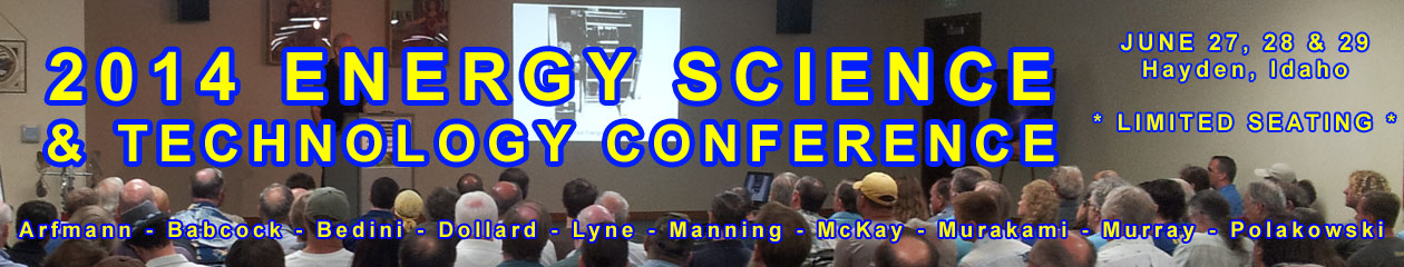 2014 Energ Science & Technology Conference