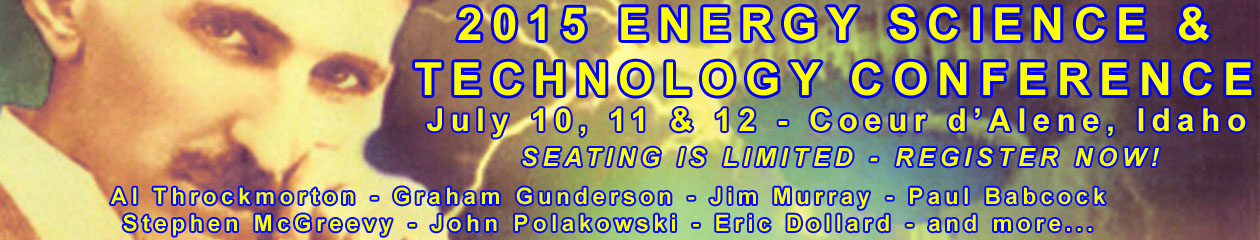 2015 Energy Science & Technology Conference - http://www.energyscienceconference.com