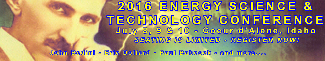 2016 Energy Science & Technology Conference - http://www.energyscienceconference.com