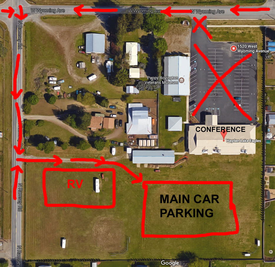 2017 Energy Conference parking